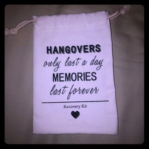 Handbags - Cute hangover recovery pouch - great for weddings